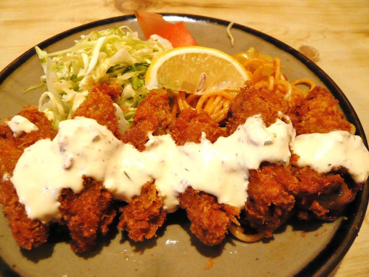 カキフライ定食750円
