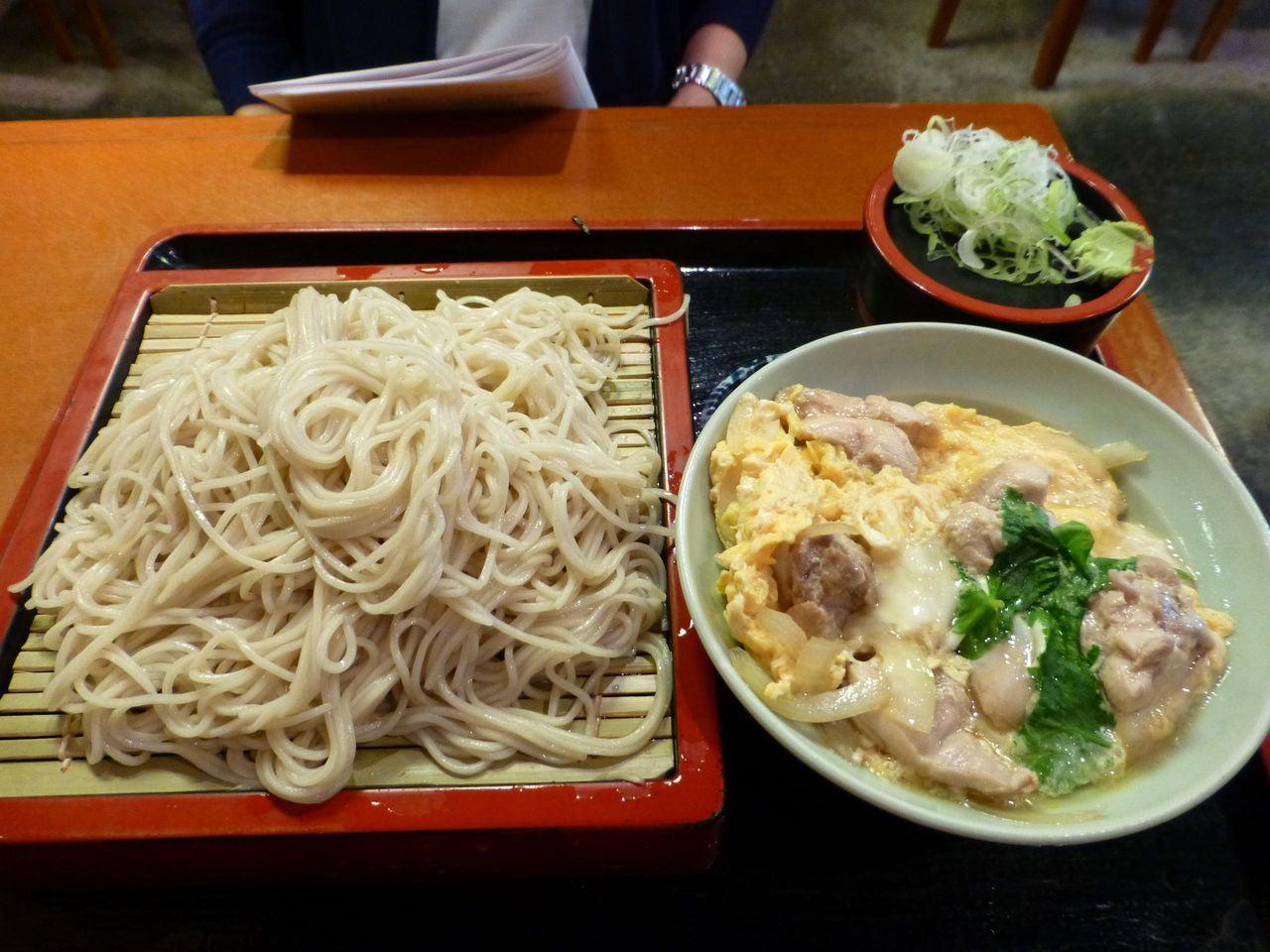 ミニ親子丼セット930円