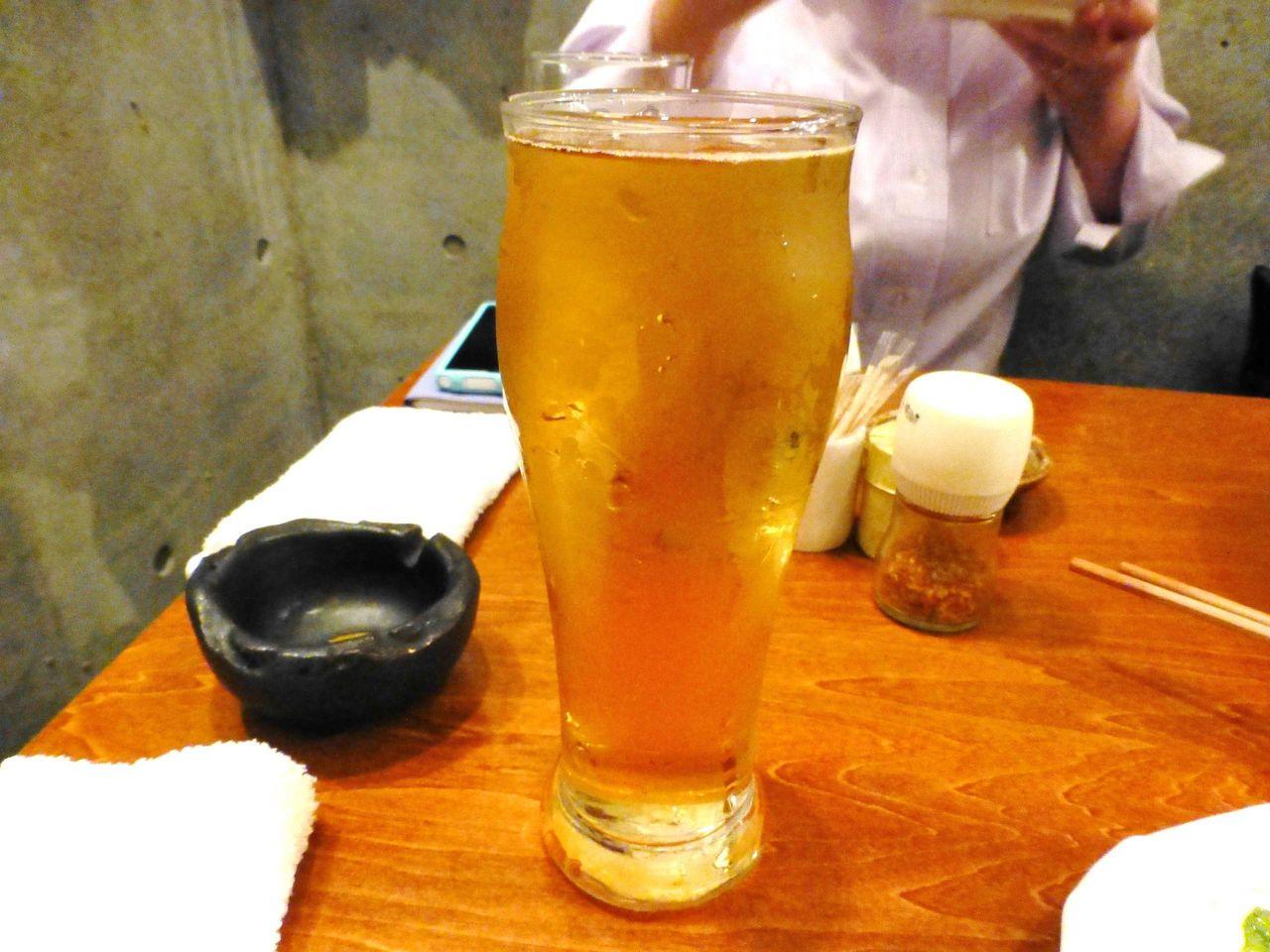 シャンディガフ(ビールのジンジャエール割り)
