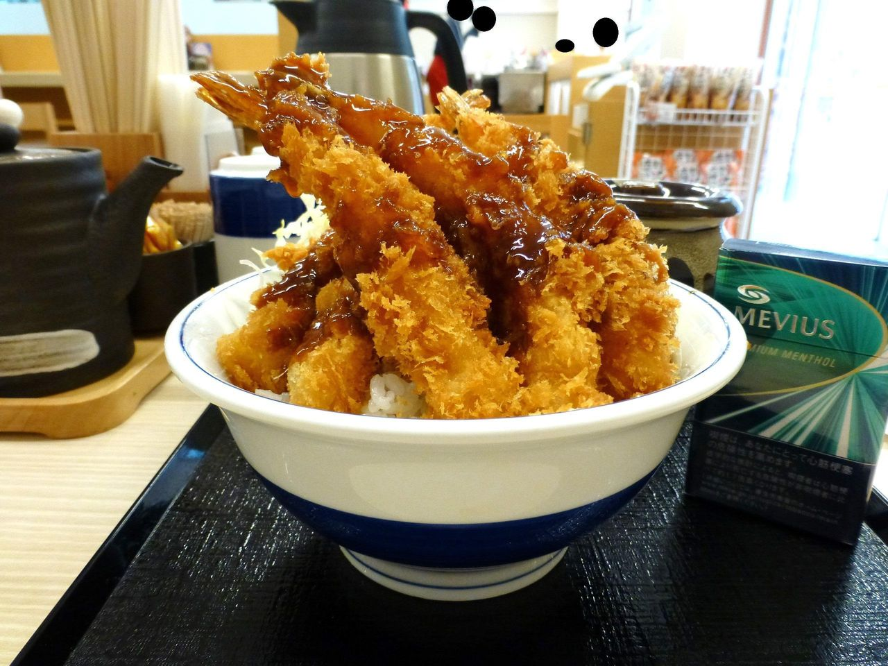 海老フライ丼(大盛)745円!