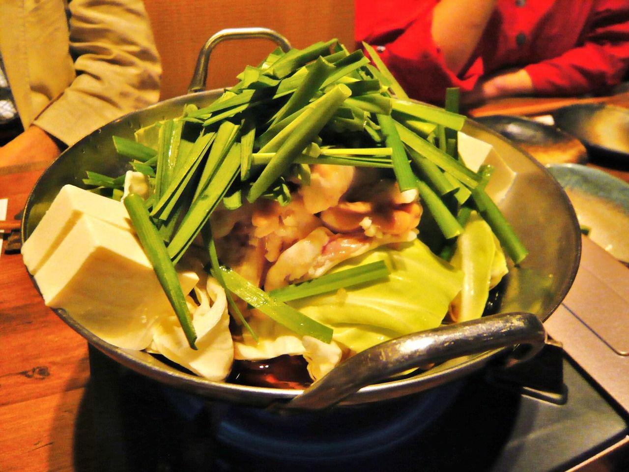 もつ鍋(しょうゆ)2人前2,520円