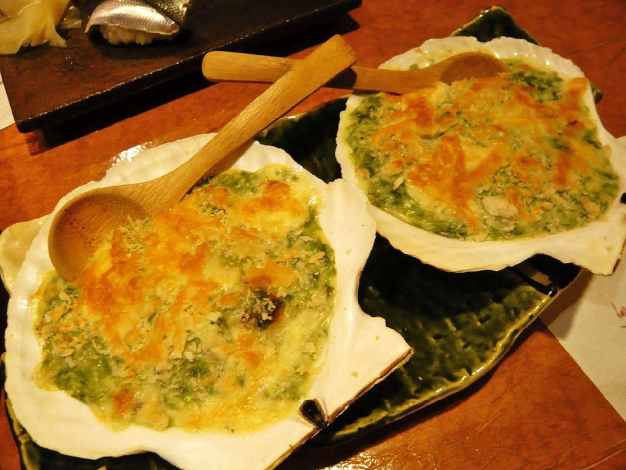 カキの青海苔グラタン680円
