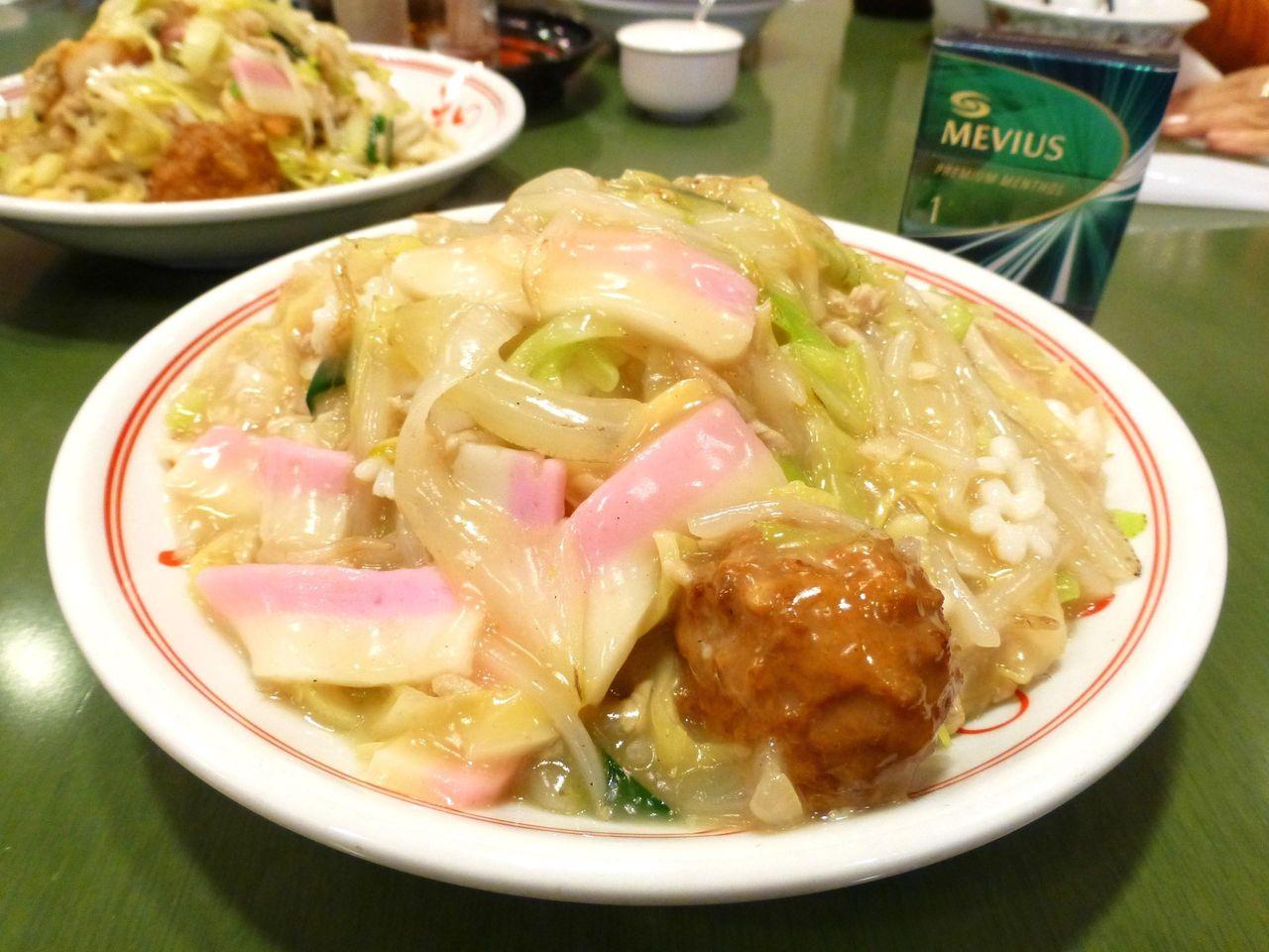 本場長崎の上皿うどん(細麺)1,080円