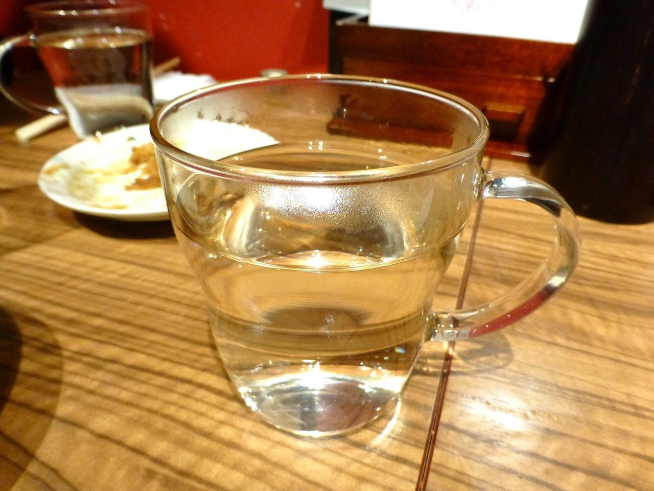 麦焼酎お湯割り409円