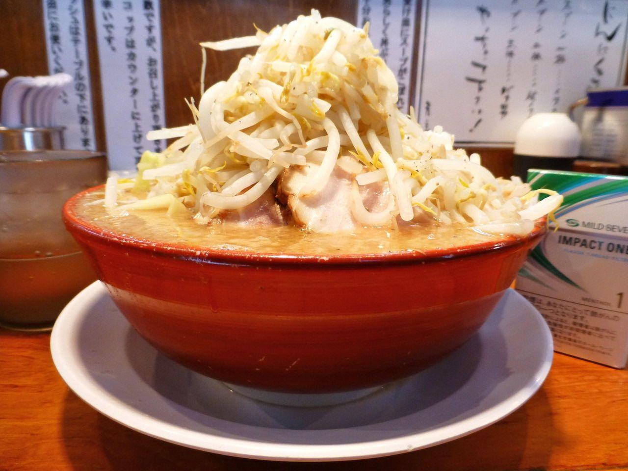 バリ男の気合い入らーめん750円(味・量は変わりません)