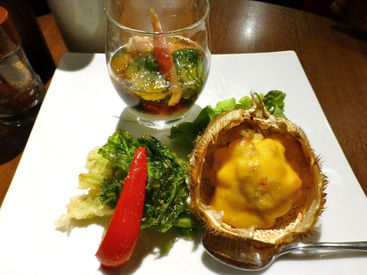 今回は違うレシピで登場!俺の毛ガニ1,344円(限定5食)