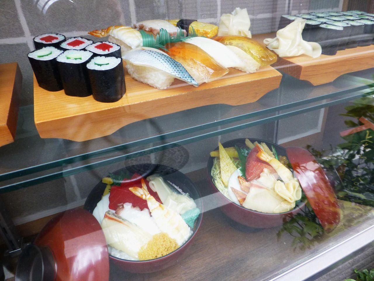 梅寿司のサンプルメニュー