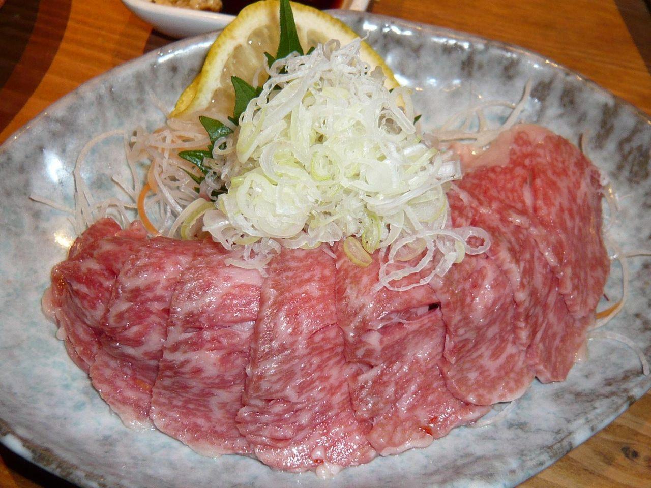 牛刺1,000円