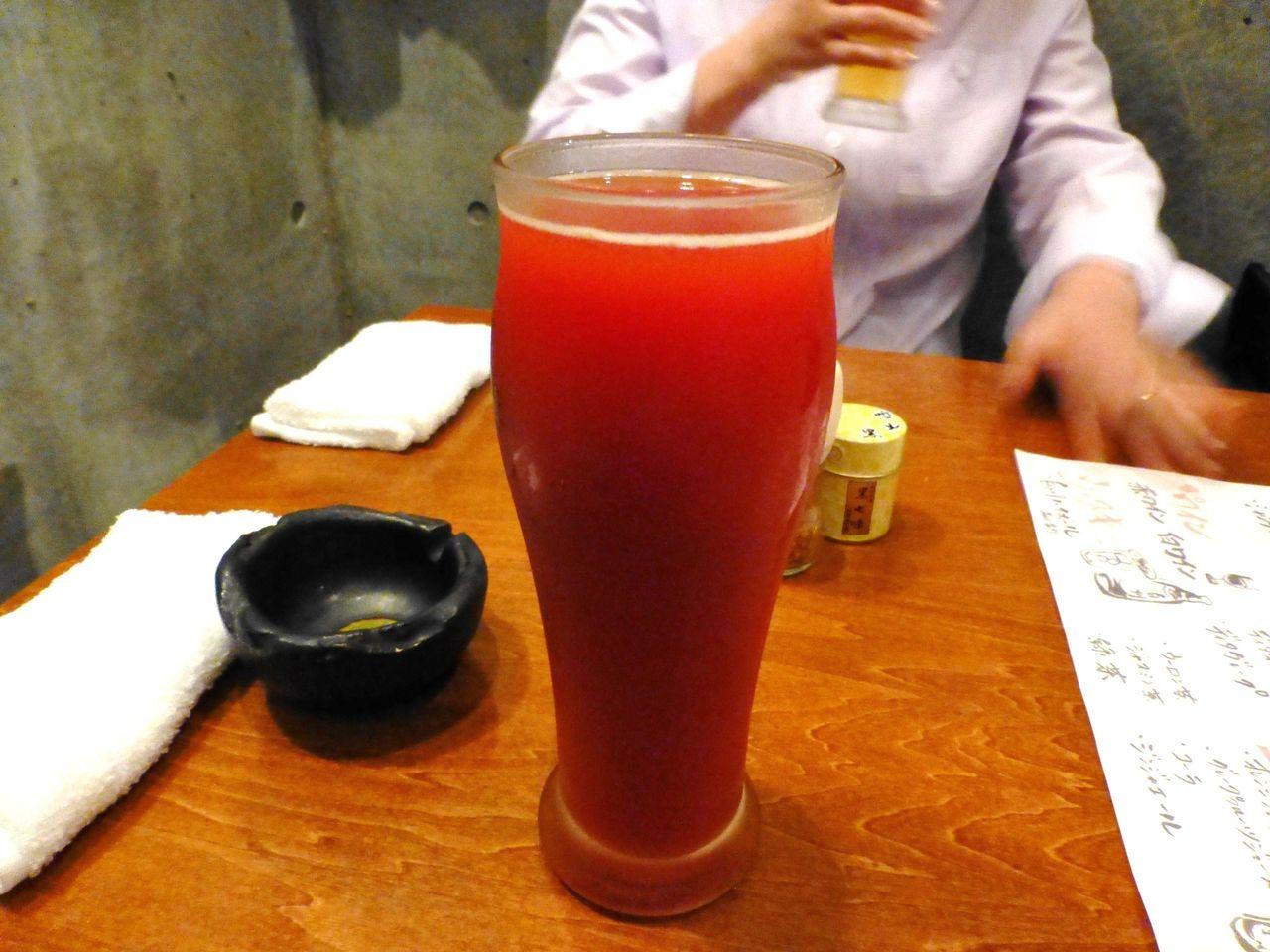 レッドアイ(ビールのトマトジュース割り)