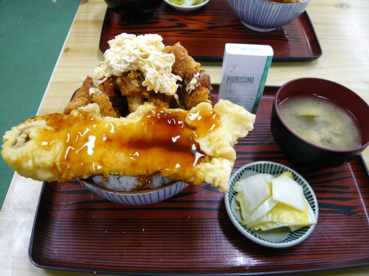 土曜日限定、アゲアゲ丼(大盛サービス)900円
