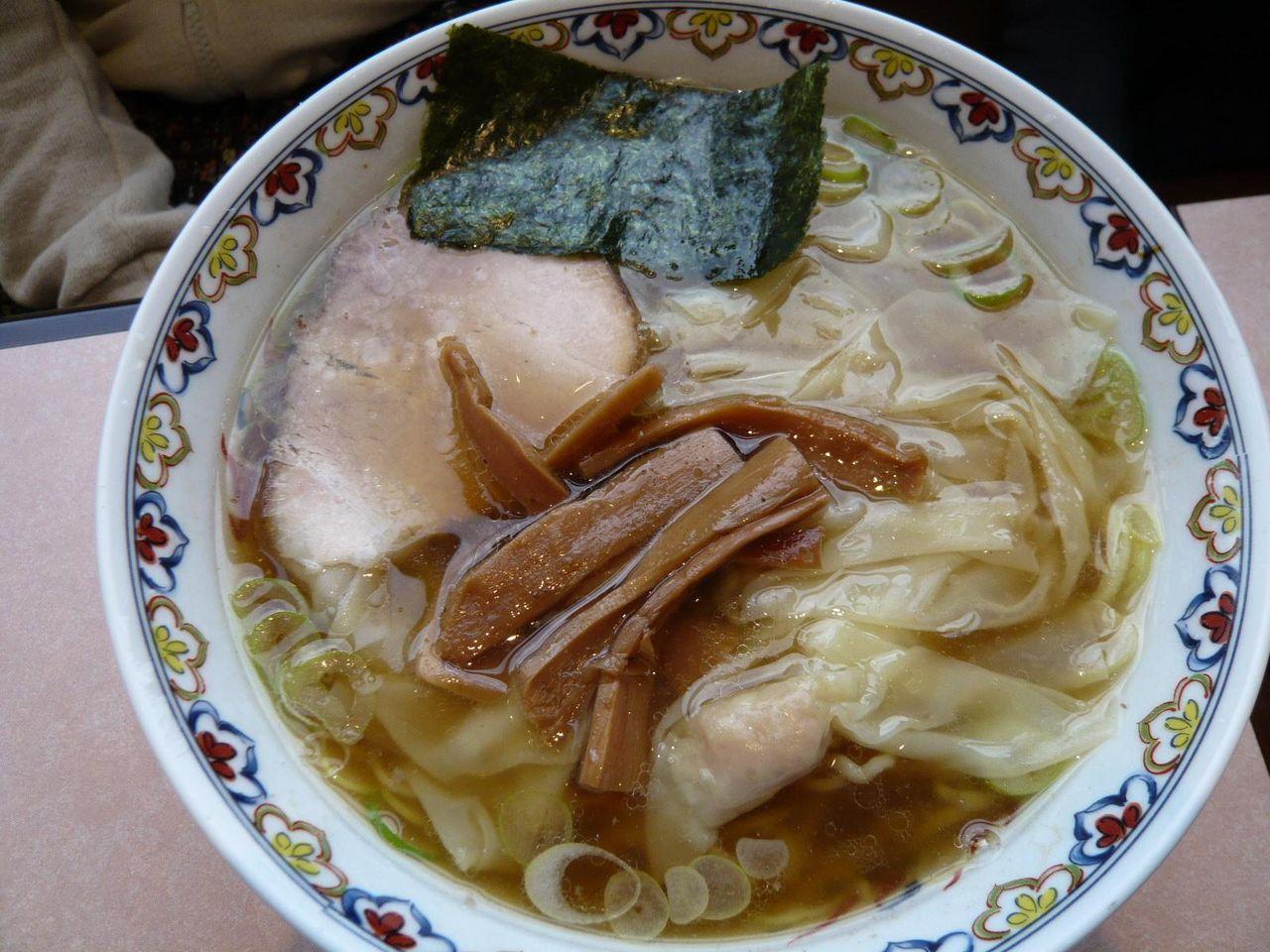 わんたん麺950円