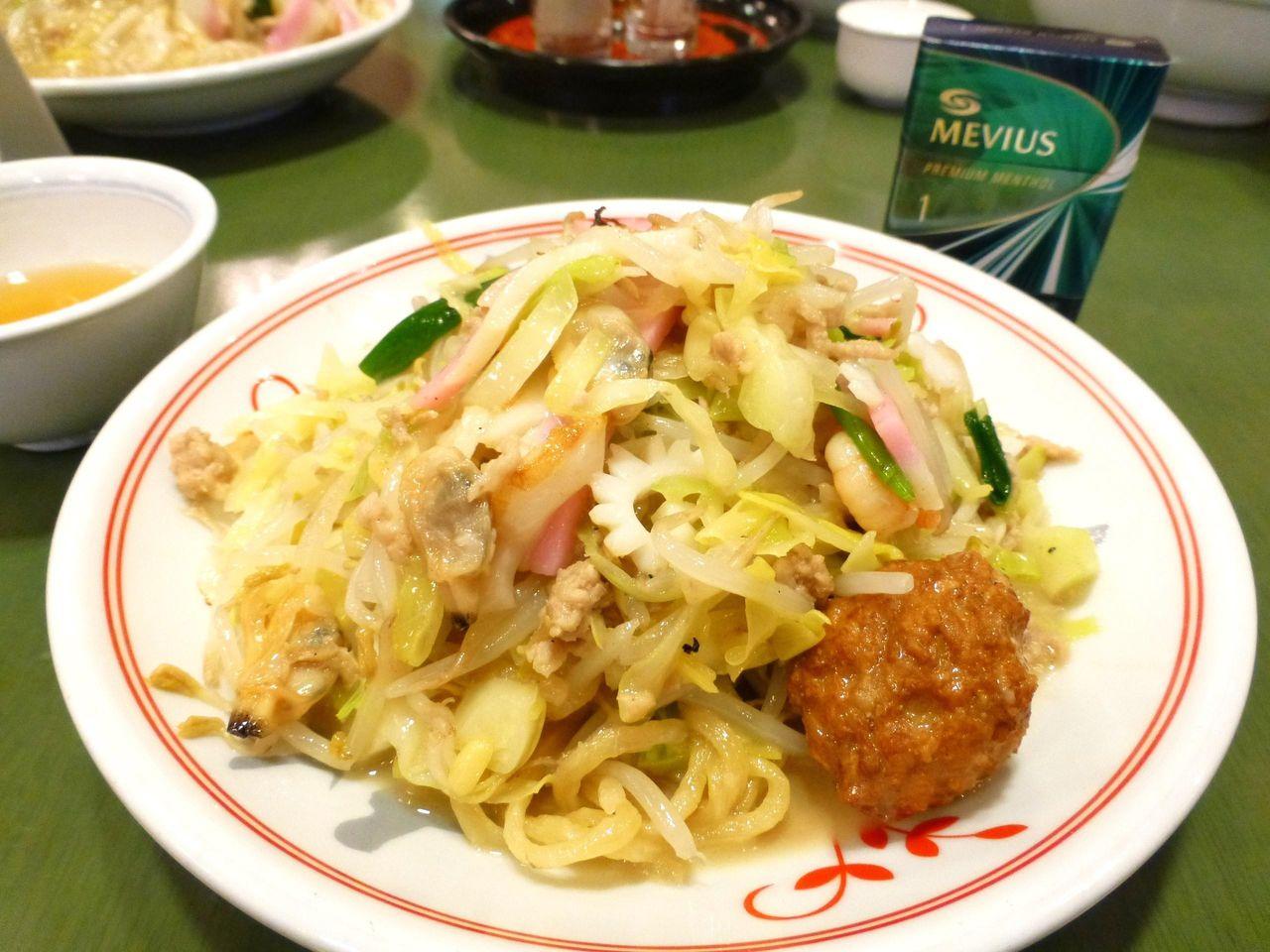 本場長崎の上皿うどん(太麺)1,080円