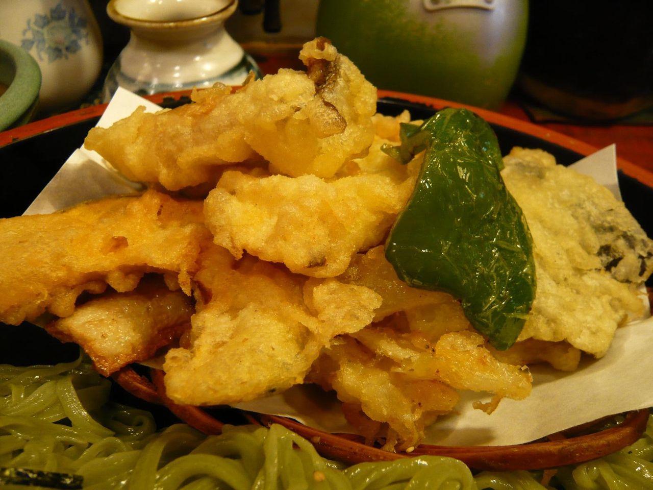 天ぷらだけでも、お腹一杯になりそうです!