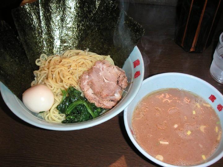 ラーメンよりお勧め!つけ麺700円