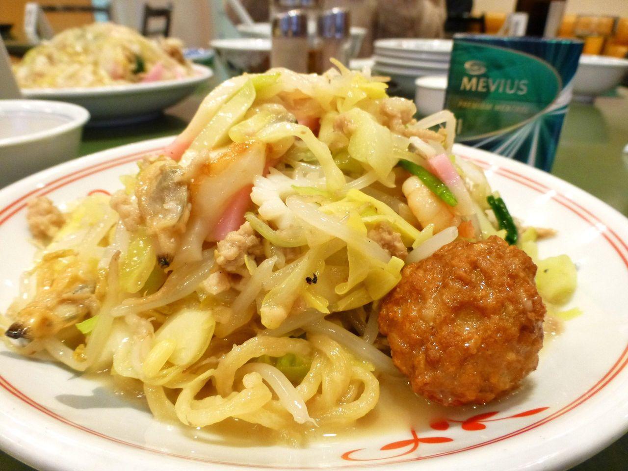 上皿うどん(太麺)1,080円