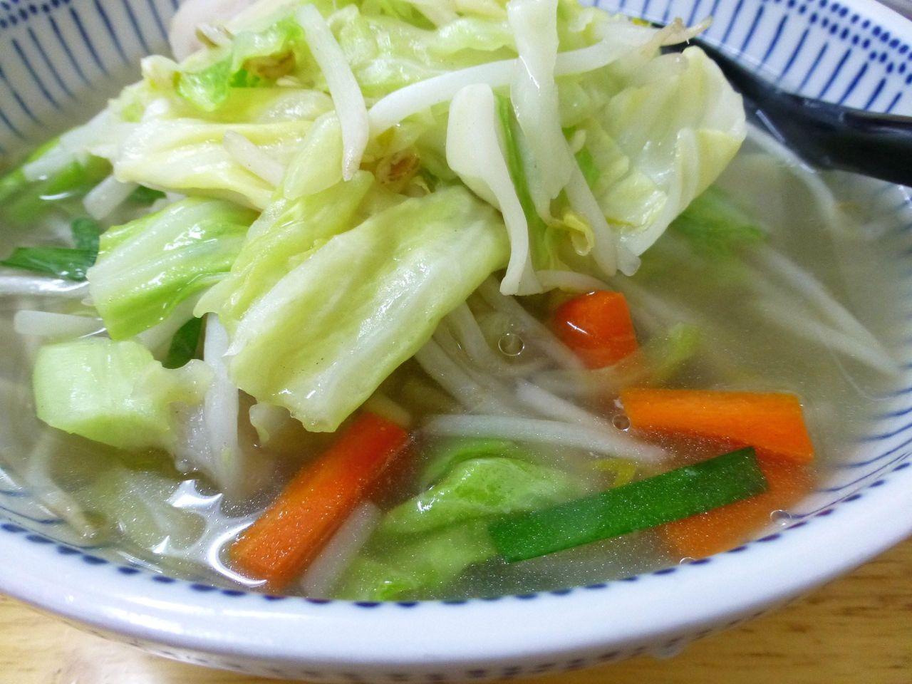 色鮮やかな野菜が食欲をそそります!