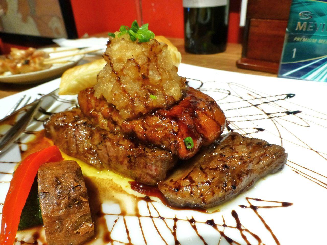 和牛サーロインステーキフォアグラポアレ(限定5食)1,659円