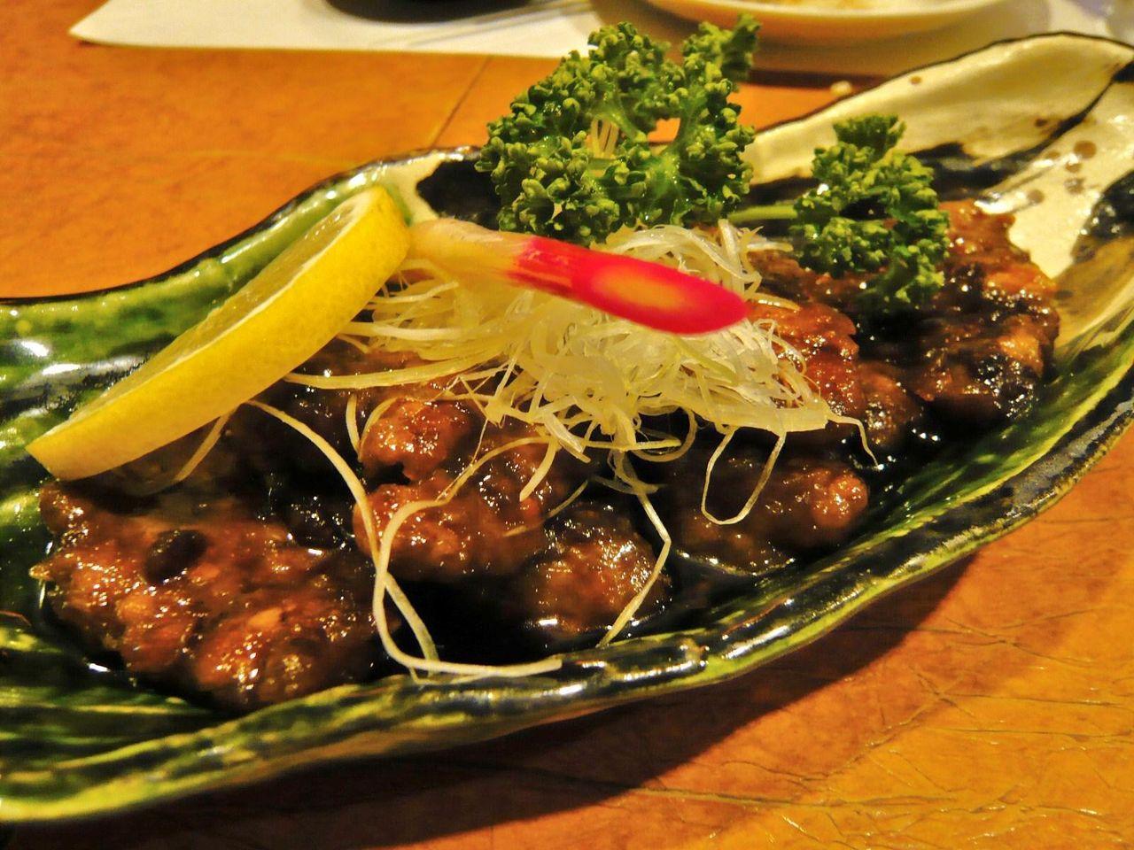 マグロのホホ肉ステーキ780円