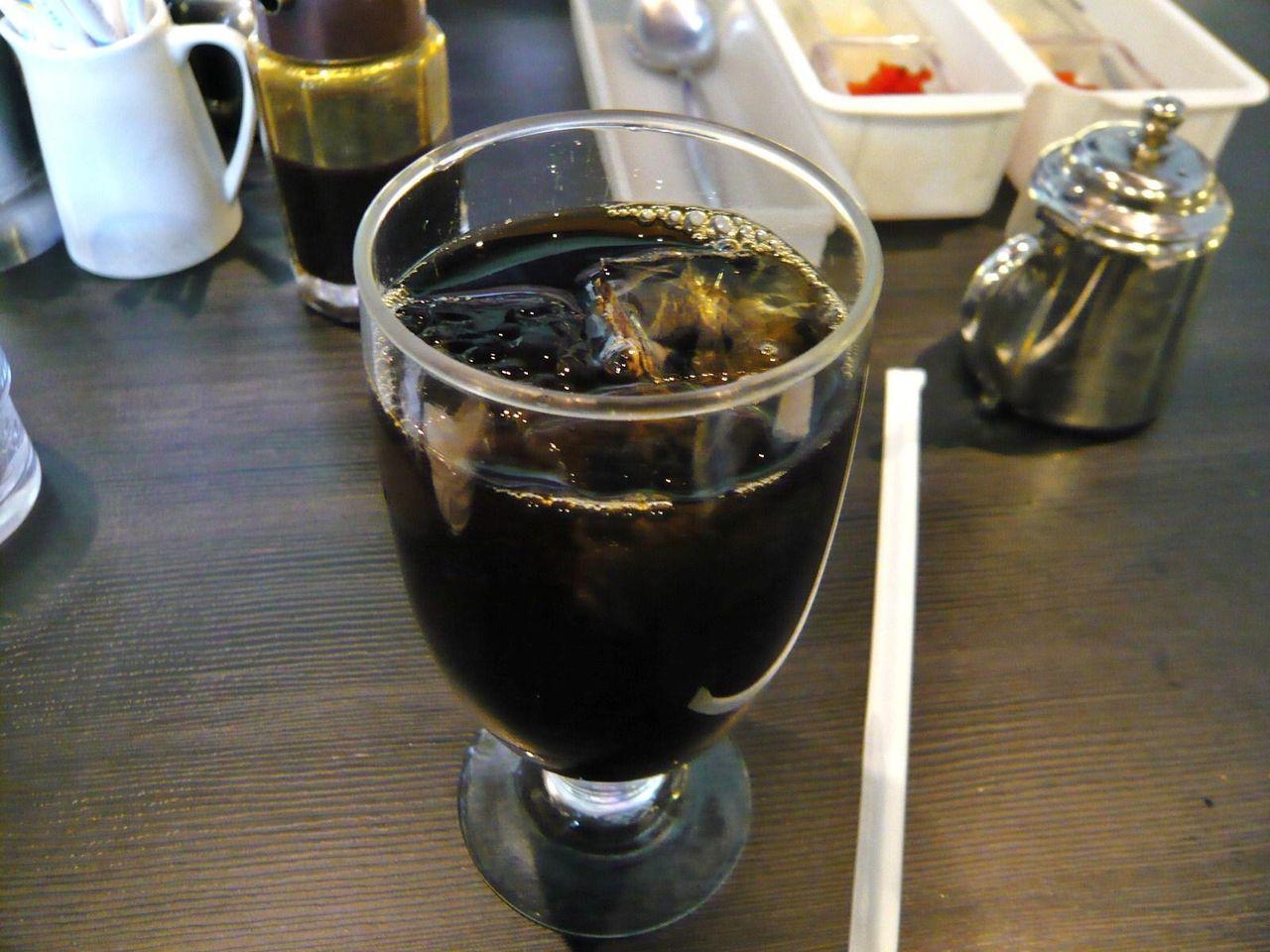 食後のコーヒーは、プラス100円なり!