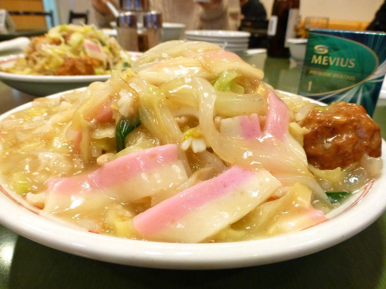 上皿うどん(細麺)1,080円