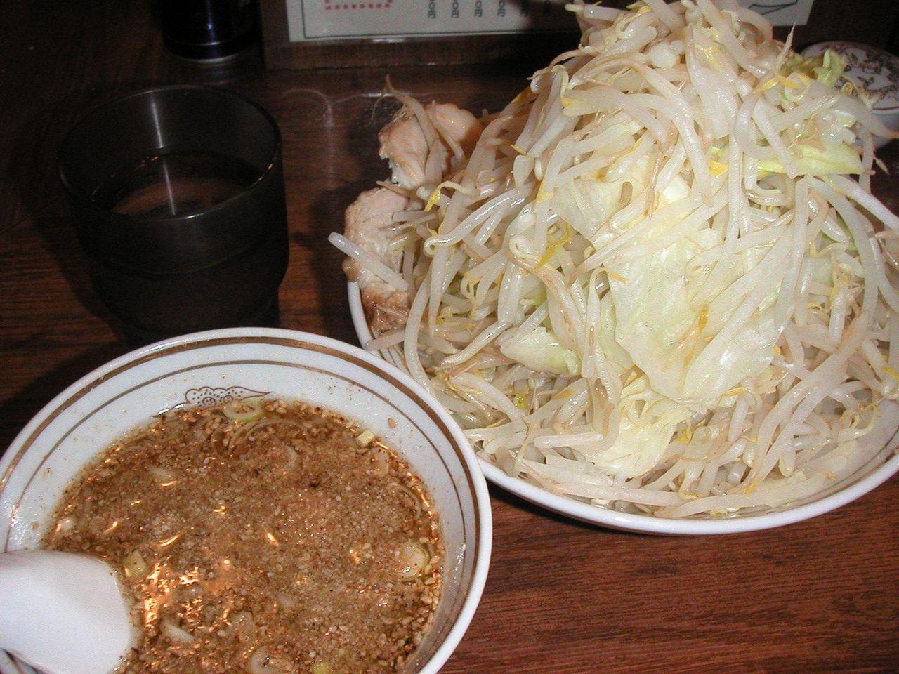 つけ麺塩大盛(野菜大盛)700円