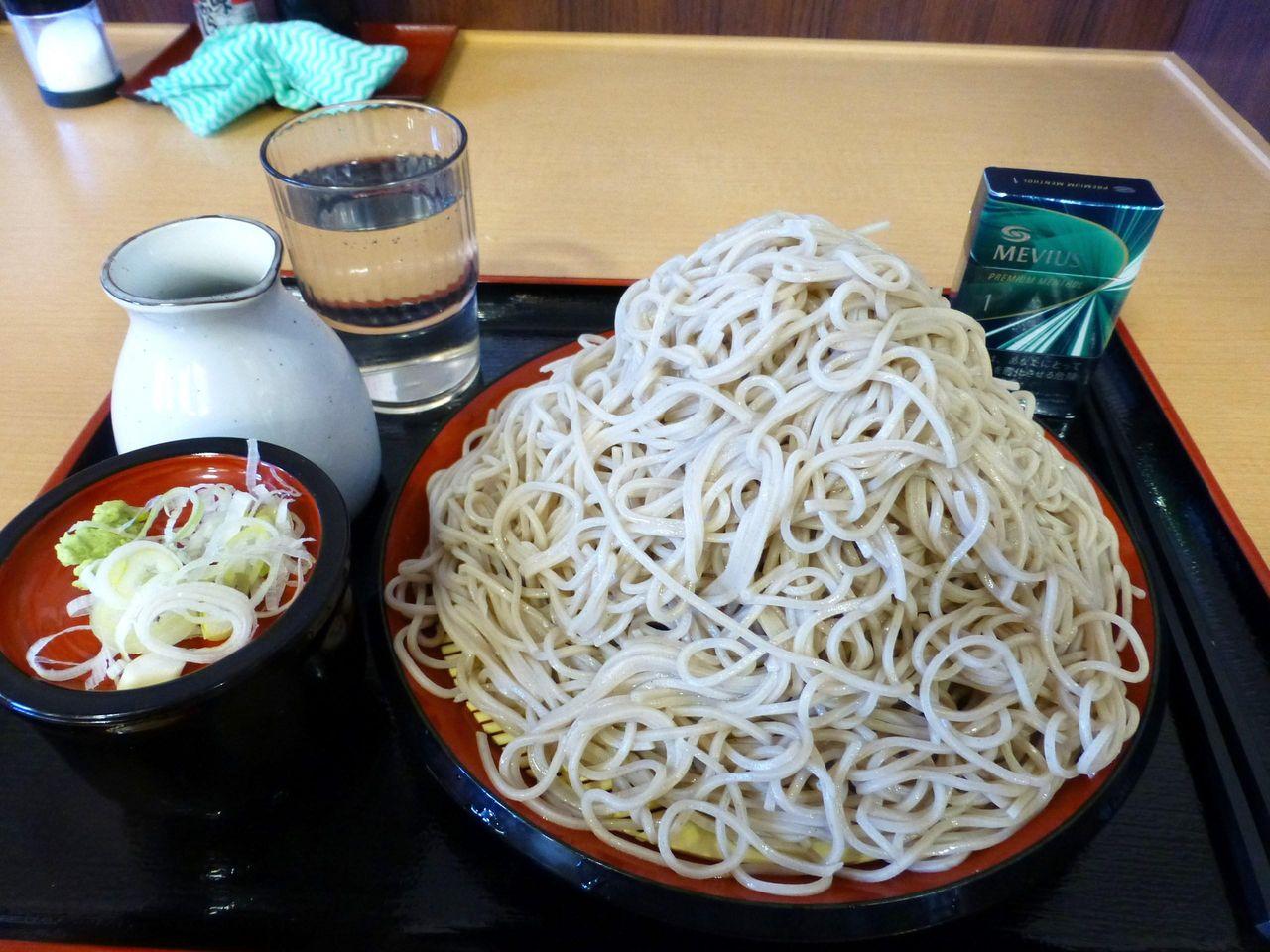 味奈登庵にソックリ!つか蕎麦の富士山もりそば510円!