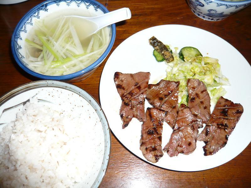 元祖仙台牛タンの味を頑固に守る・・・味太助のランチA定食1,300円