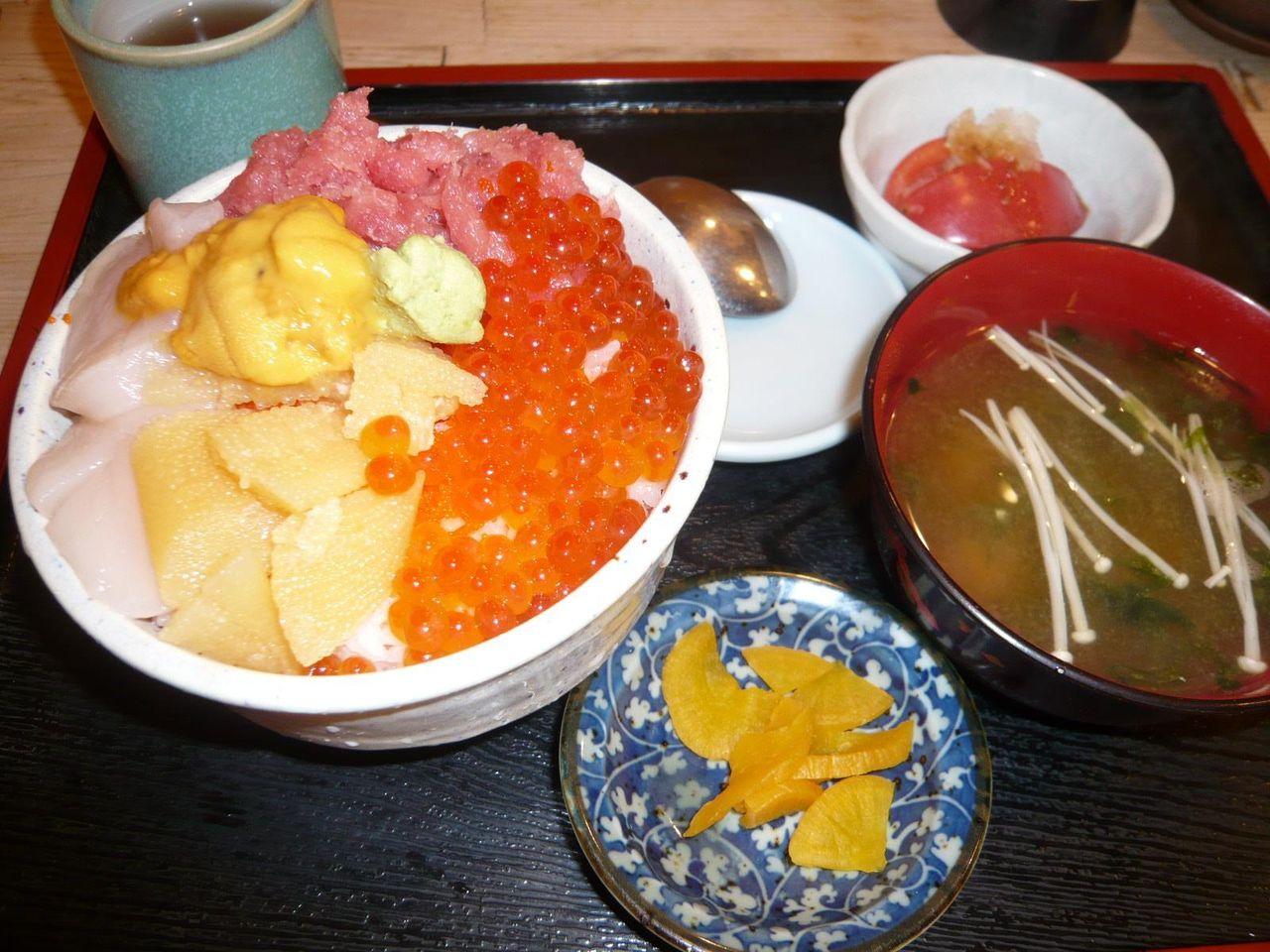 北海丼(大盛)1,050円