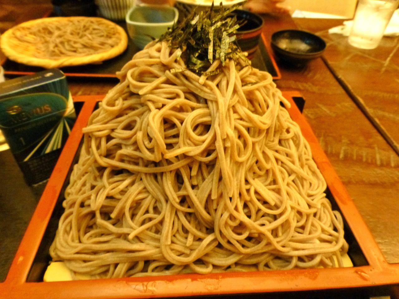 肉つけ麺大盛り(生そば400グラム)930円