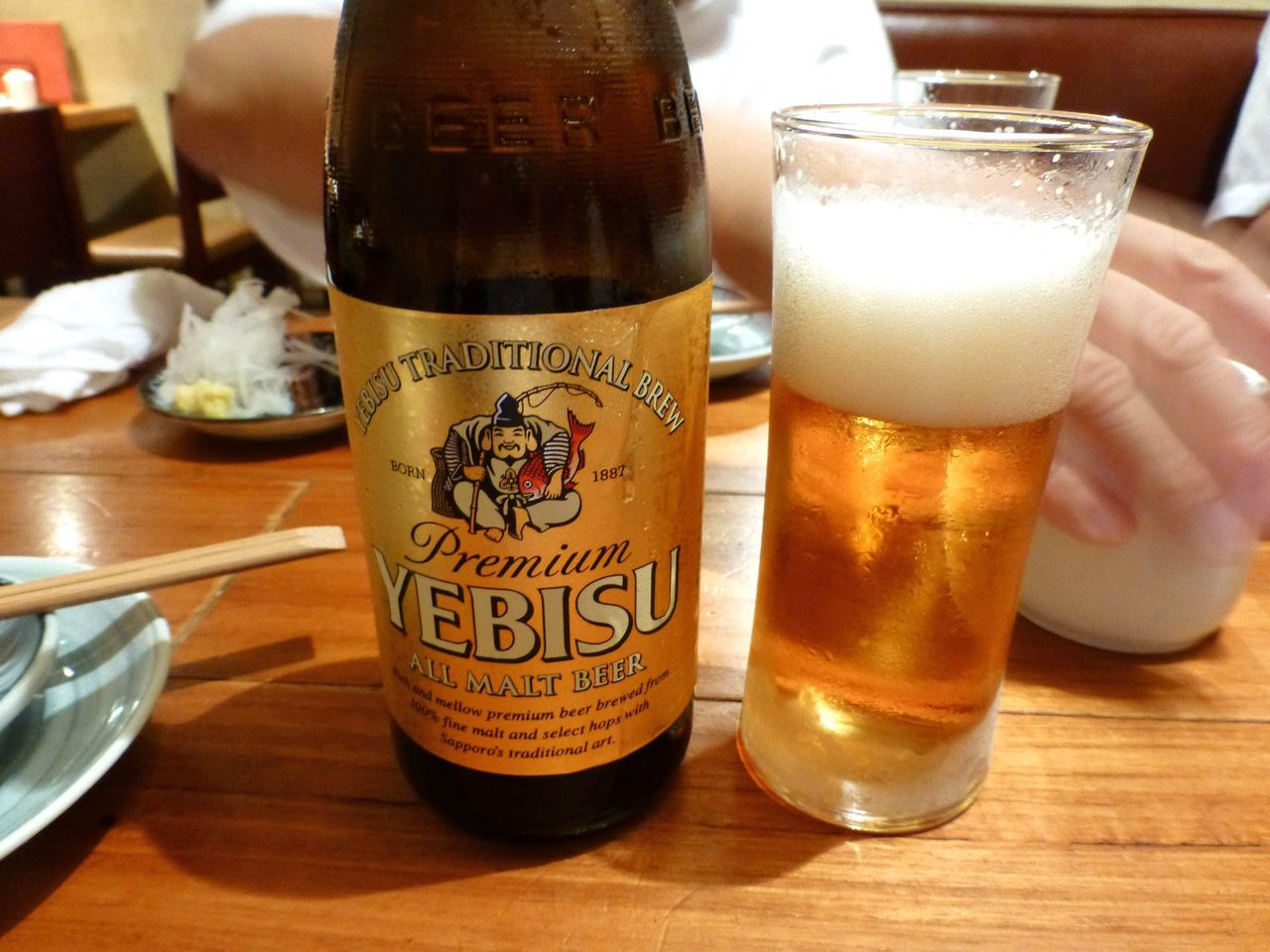 エビスビールも飲み放題です!
