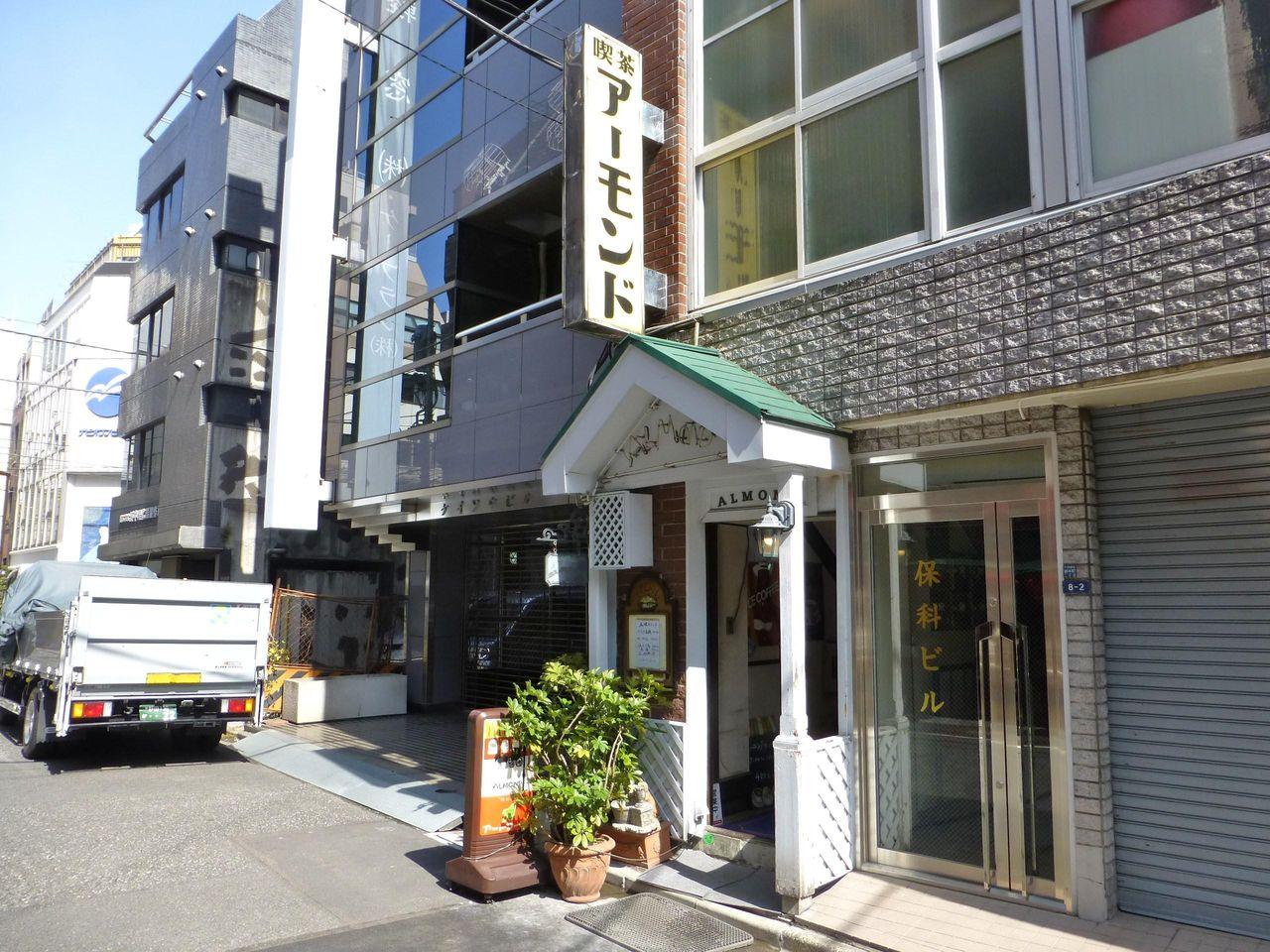 小伝馬町のレトロな喫茶店アーモンド!