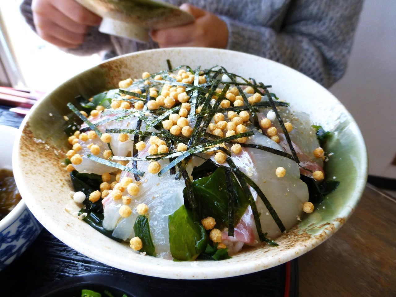 鯛茶漬けは甘鯛刺身と鯛茶漬けの2種類の味を楽しめます!