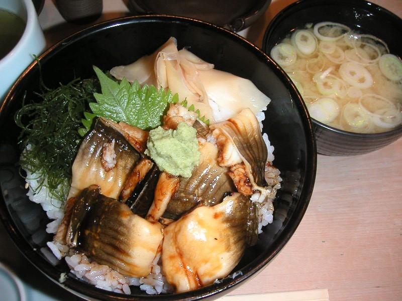 穴子丼1,050円