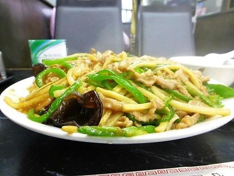 とうりゅう 青椒飯(大盛)2