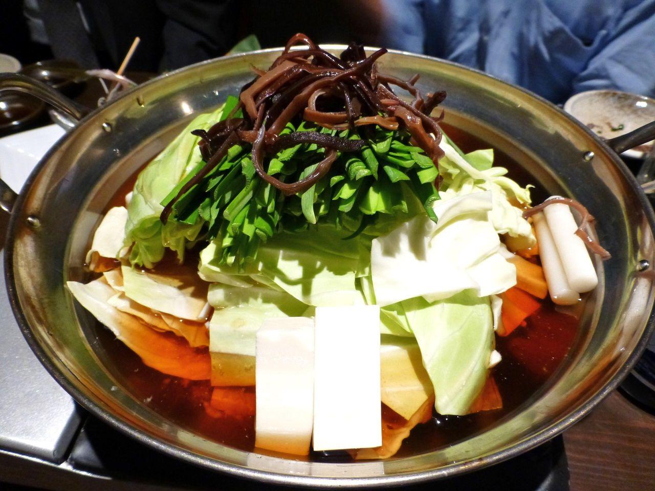 博多もつ鍋元味1,200円×2人前