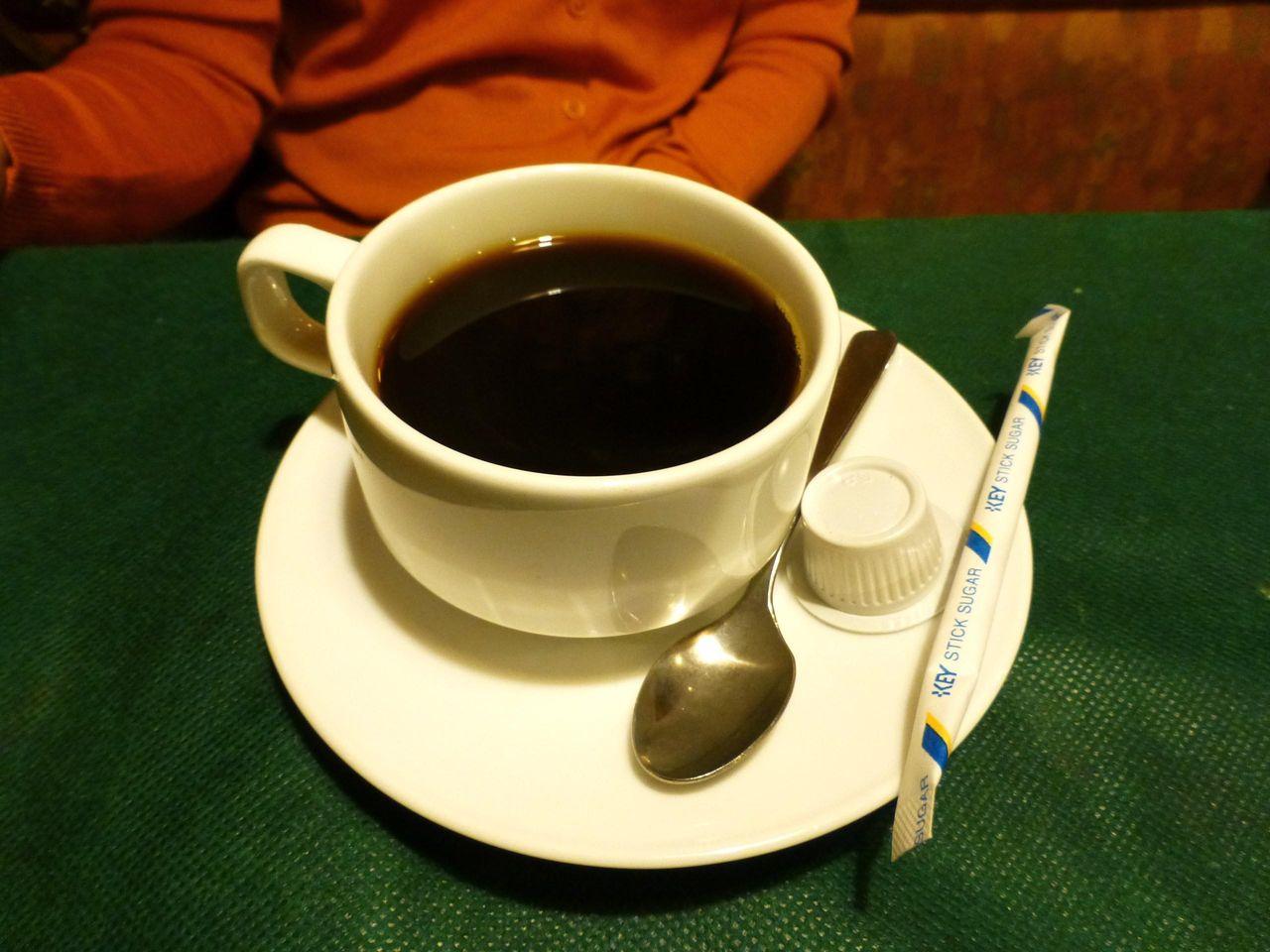 食後のコーヒーも付いてます!
