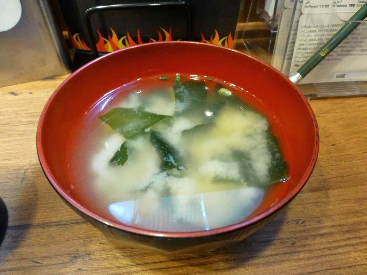 生姜丼は、みそ汁、生卵が付きます!