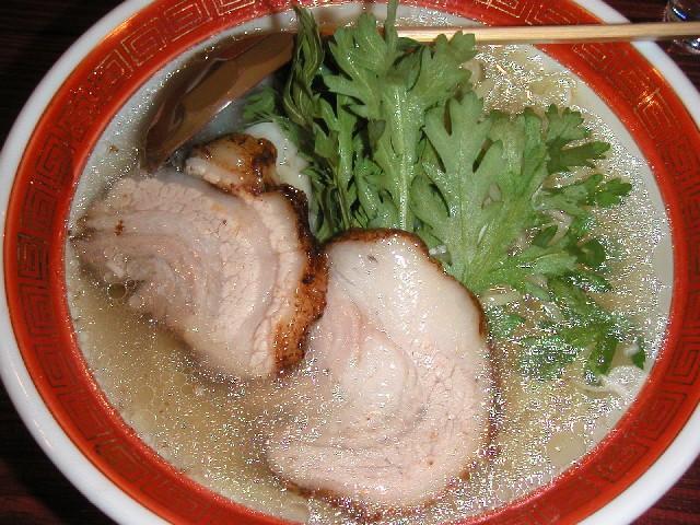 本丸塩らー麺730円