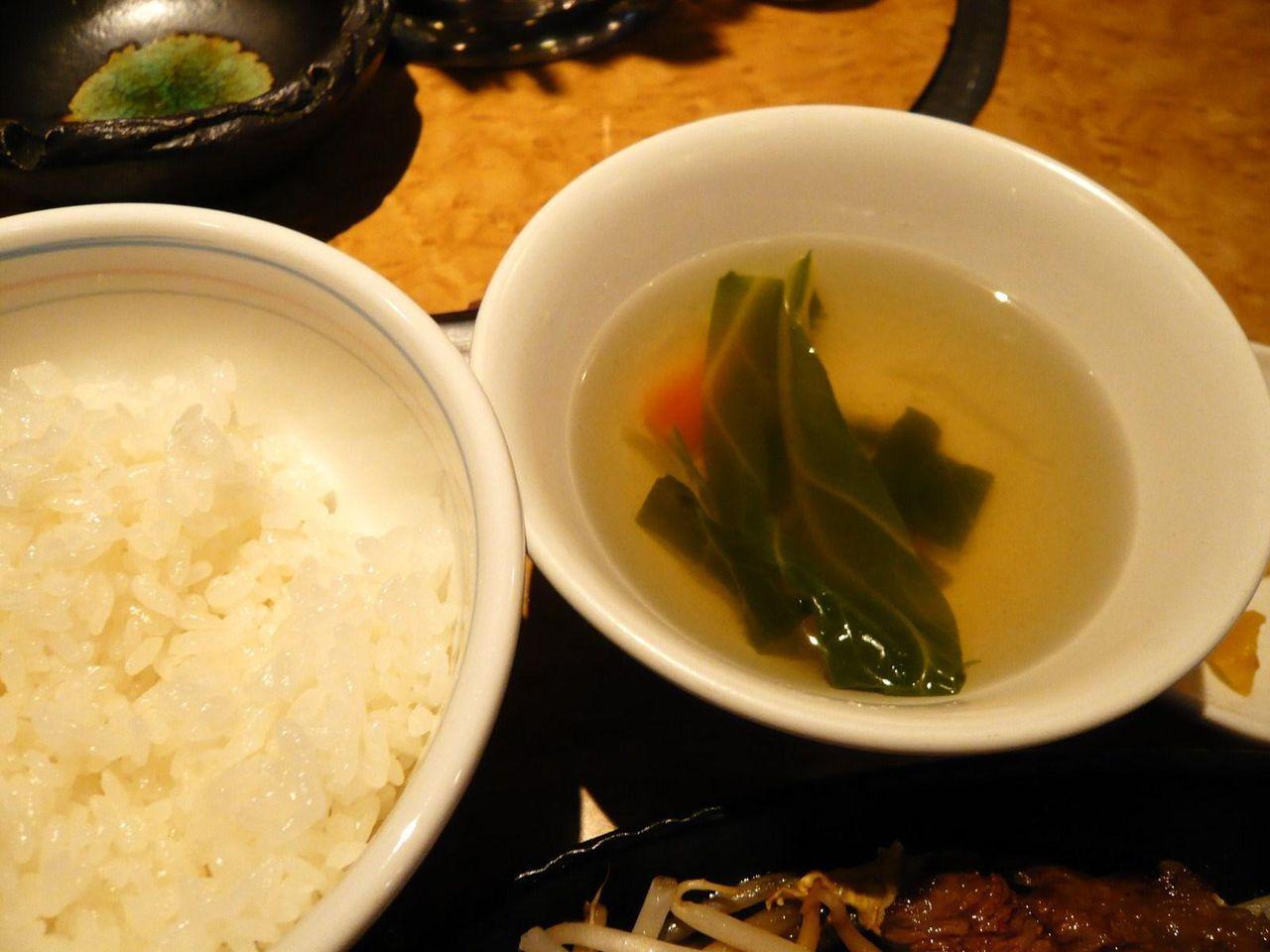 ラースとスープも付いて500円です!
