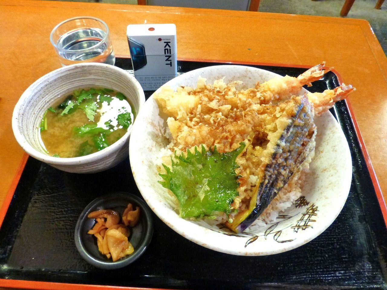 天丼大盛1,180円