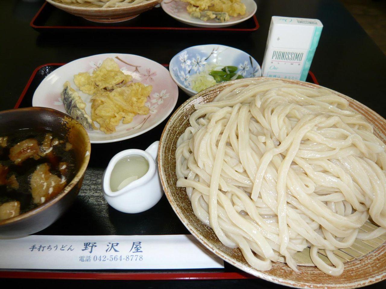 肉汁うどん大盛650円