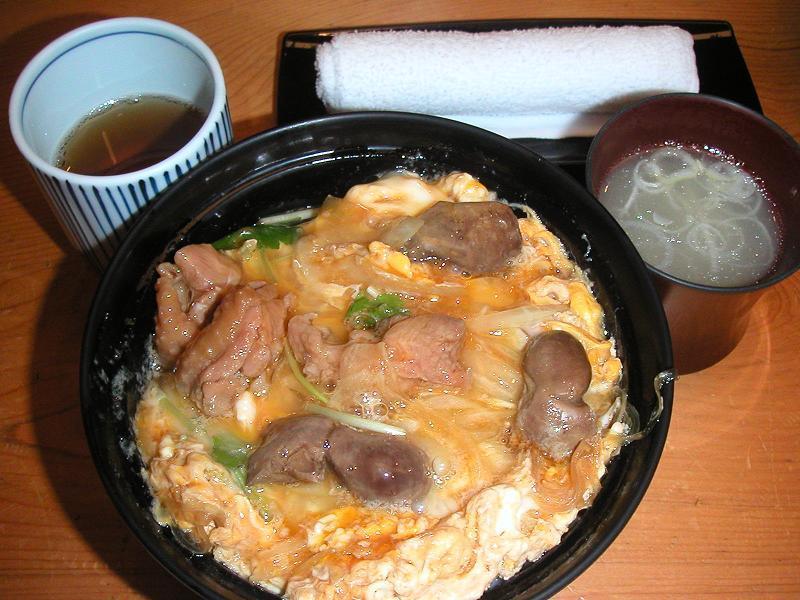 肝入り親子丼(大盛り)800円