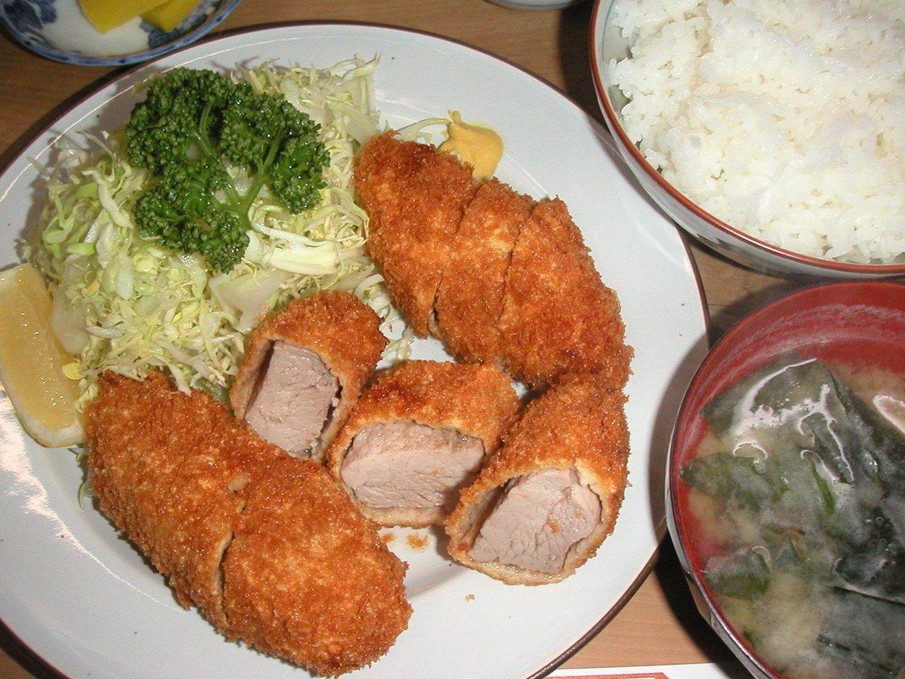 ヒレカツ定食1,200円