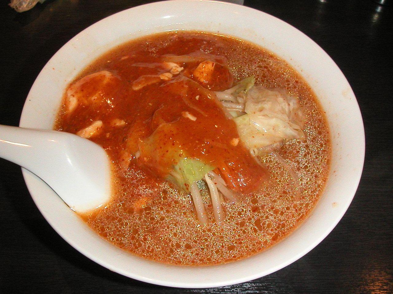 辛しマーボ担麺720円