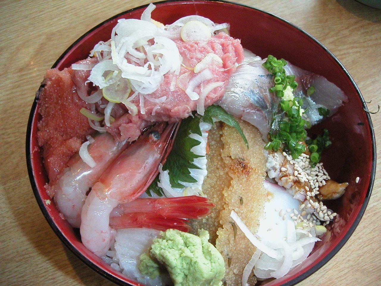 特上海鮮丼1,260円