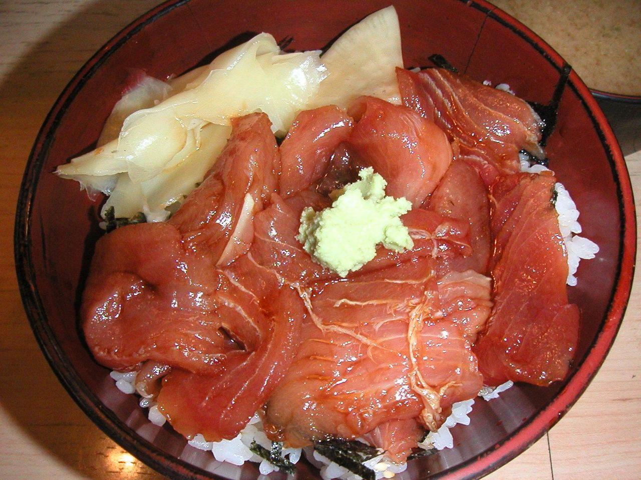 ヅケ丼700円
