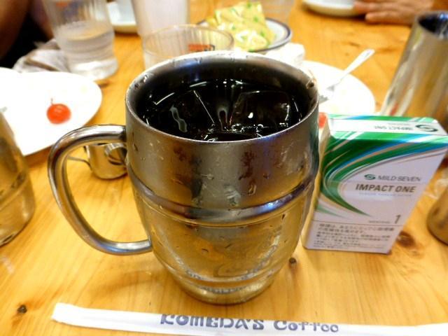 たっぷりアイスコーヒー(1.5倍)500円