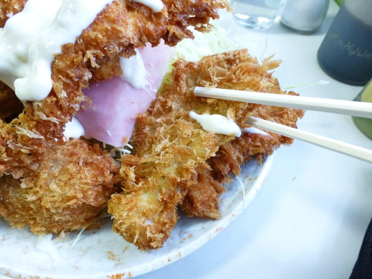 豚ヒレカツは、薄めの肉を使用して、やわらかい仕上がり!