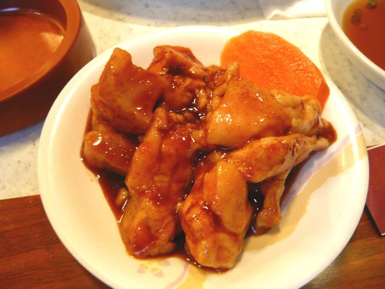 わわらかくプヨプヨの食感!・・・ミノサンド780円