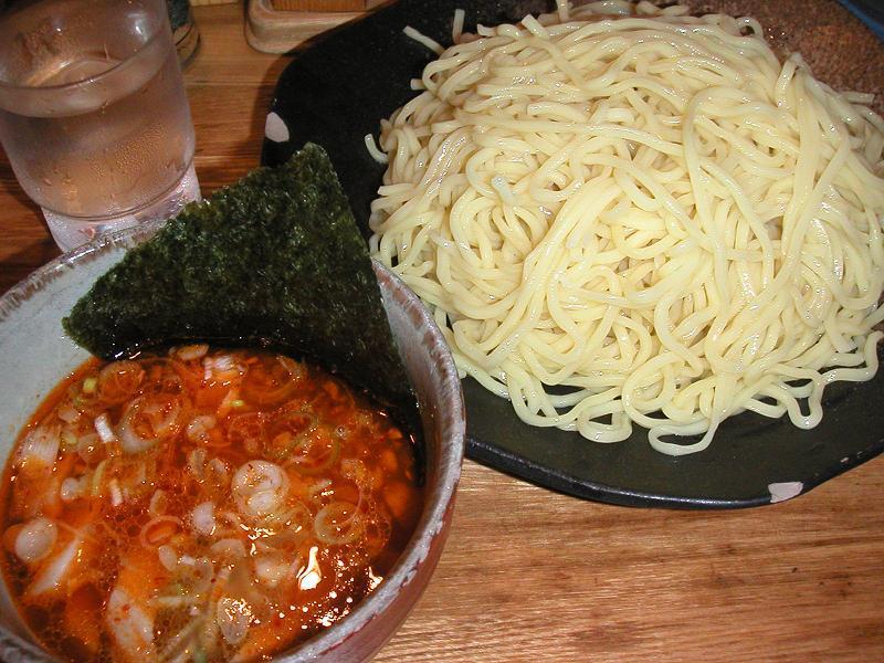 辛味つけ麺(大盛440g)680円